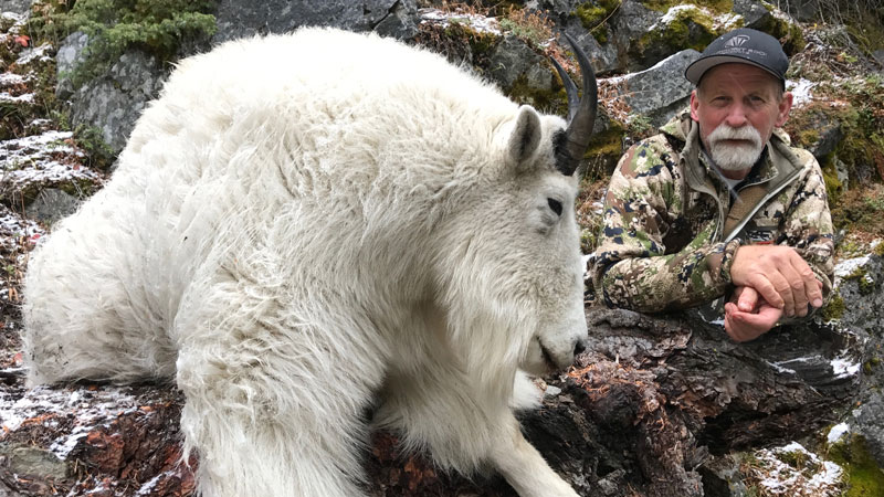 Mountain Goat Hunting - BC, Canada - Fraser River Outfitters